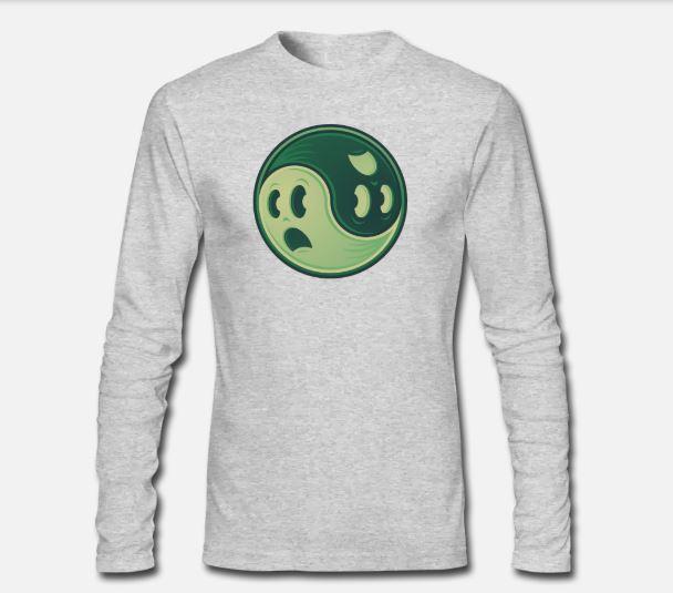 ying yang ls shirt